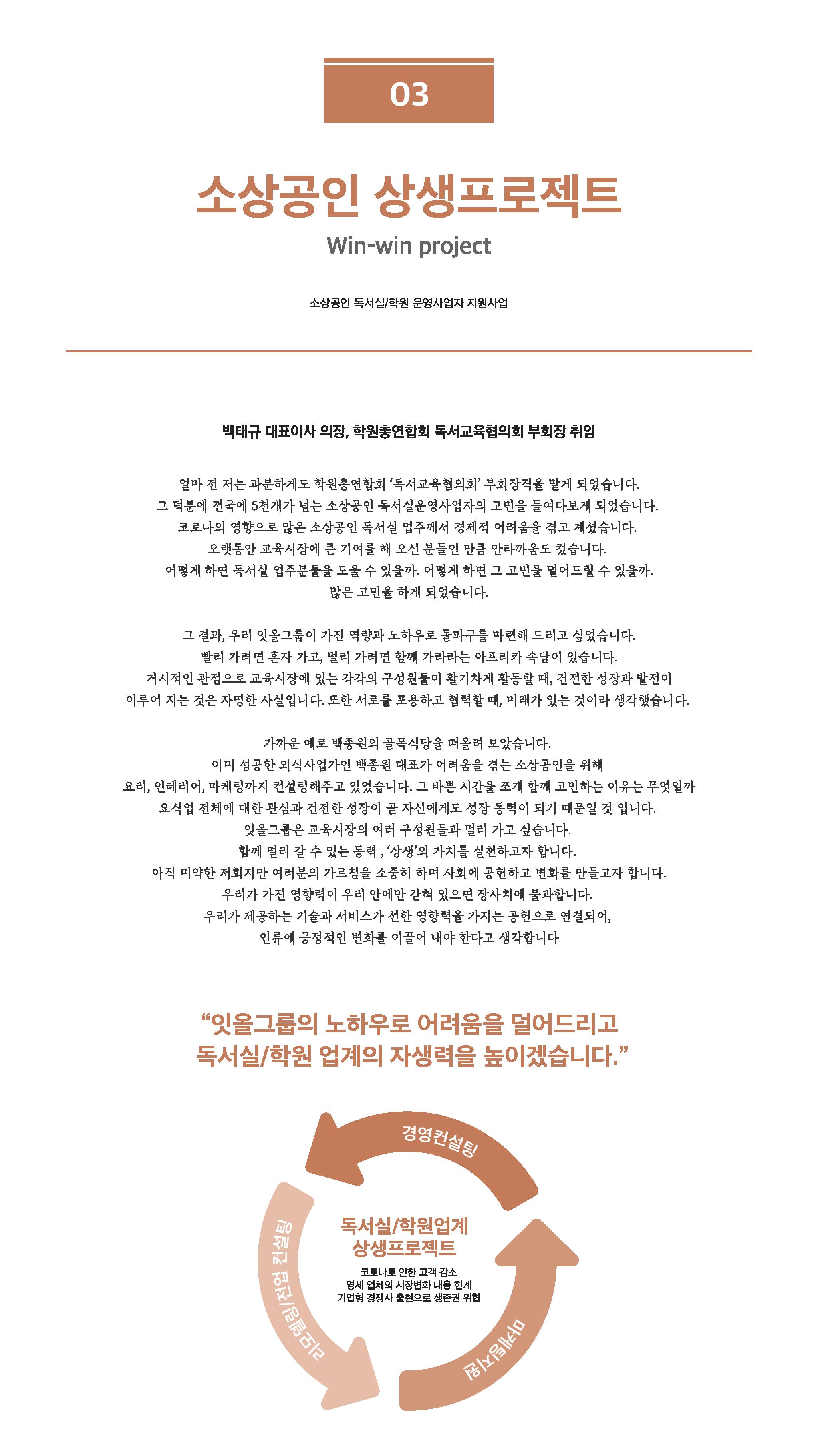 소상공인 상생프로젝트